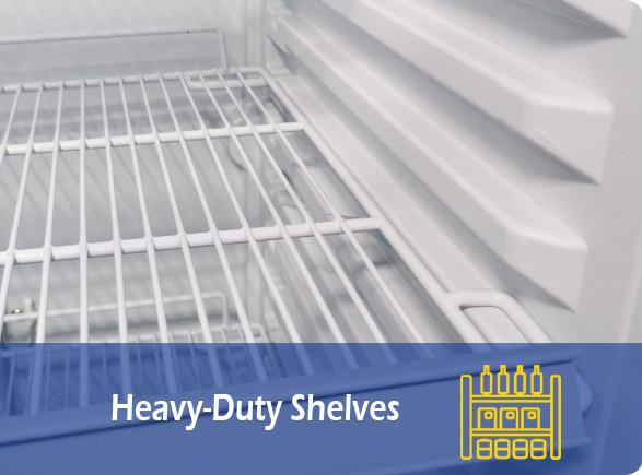 Heavy-Duty Shelves   NW-LG268F-300F-350F-430F-660F upright showcase manufacturer