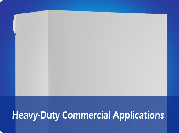 Heavy-Duty Commercial Applications | NW-LG400F-600F-800F-1000F glass beverage cooler