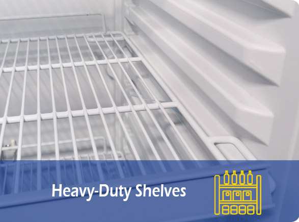 Heavy-Duty Shelves | NW-LG400F-600F-800F-1000F display beverage cooler
