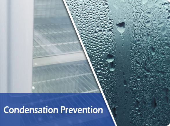 Condensation Prevention | NW-LG400F-600F-800F-1000F beverage cooler