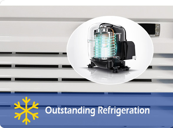 Outstanding Refrigeration | NW-LG400F-600F-800F-1000F glass door beverage cooler
