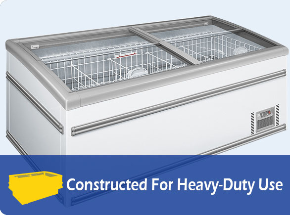 Constructed For Heavy-Duty Use | NW-WD2100 grocery island freezer